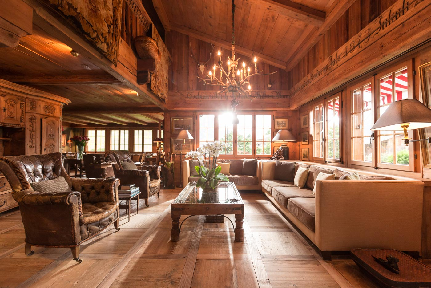 Hotel Interiors Chalet Interiors Mark Nolan Photographer